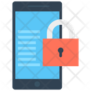 Mobile Security Lock Smartphone Icon