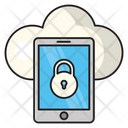 Mobile Protection Cloud Icon