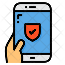 Security Protection Smartphone Icon