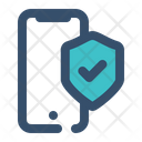 Mobile Security Smartphone Gadget Icon