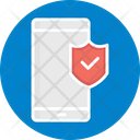 Mobile Security Antivirus App Data Protection Icon