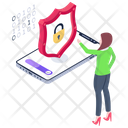Mobile Protection Mobile Security Phone Protection Icon