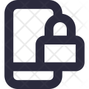 Mobile Security Lock Icon