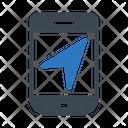 Mobile Send Message Icon