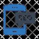 Seo Marketing Mobile Icon