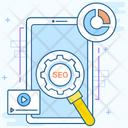 Mobile Seo Mobile App Mobile Optimization Icon