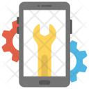 Mobile Seo Marketing Icon