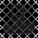 Mobile Storage Server Icon