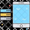 Server Mobile Database Icon
