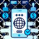 Mobile Service Phone Icon