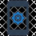 Configuration Gear Mobile Icon