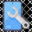 Mobile Maintenance Mobile Settings Smartphone Repair Icon