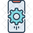 Mobile Setting Device Setting Management Icon
