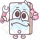 Mobile Setting Mobile Repairing Mobile Maintenance Icon