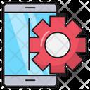 Mobile Setting Development Icon