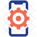 Mobile Work Leader Management Icon