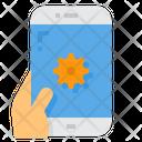Setting Cog Smartphone Icon