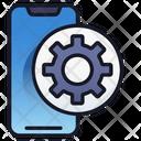 Mobile Setting Mobile Design Icon