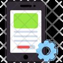 Mobile Setting Mobile Configuration Mobile Development Icon
