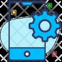 Mobile Setting Gear Setting Icon