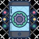 Mobile Setting Mobile Netwroking Icon