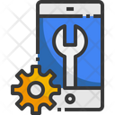 Mobile Setting Mobile Support Technical Support Icon