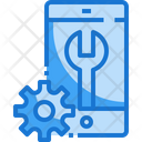 Mobile Support Technical Support Setting Icon