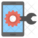 Mobile Setting Device Icon