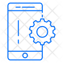 Mobile Setting Gear Icon
