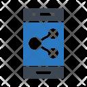 Mobile Share Icon