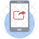 Data Share Data Transfer Online Data Sharing Icon