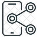 Mobile Connections Media Icon