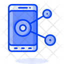 Mobile Share Phone Share Mobile Sharing Icon