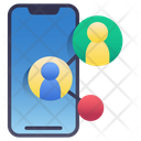 Mobile Sharing Icon