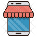 Mobile Shop Marketplace Icon