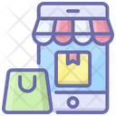Mobile Shop Icon