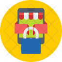 Mobile Lock Shop Icon