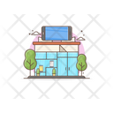Marketplace Mobile Outlet Storehouse Icon