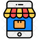 Mobile Shop Online Shop Online Store Icon
