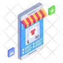 Buy Now Mobile Shop Shopping App Icon