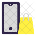 Mobile Shoping Online Shop Ecommerce Icon