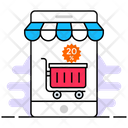 Online Shopping Online Buying Ecommerce Icon