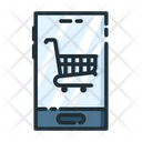 Mobile Shopping Shopping Shopping Cart Icon