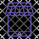 Mobile Shop Store Icon