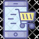 Mobile Shopping Online Shopping Ecommerce Icon