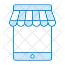 Mobile shopping Icon