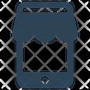 E Commerce Mobile Shopping Icon