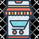 Mobile Shopping Mobile Shopping Icon