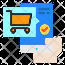 Cart Screen Mobile Icon