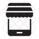 Ecommerce Online Mobile Icon